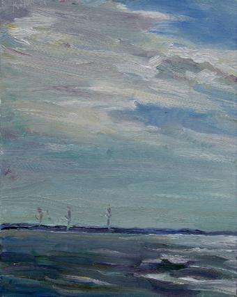 Wolken über den<br /> Windmühlen