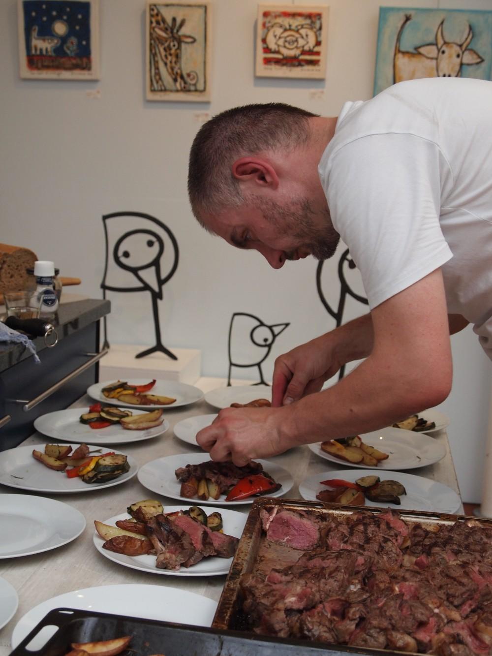 prive chef inhuren, prive diner, intiem diner voor besloten gezelschap