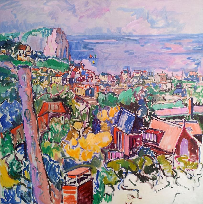 Panorama de etretat