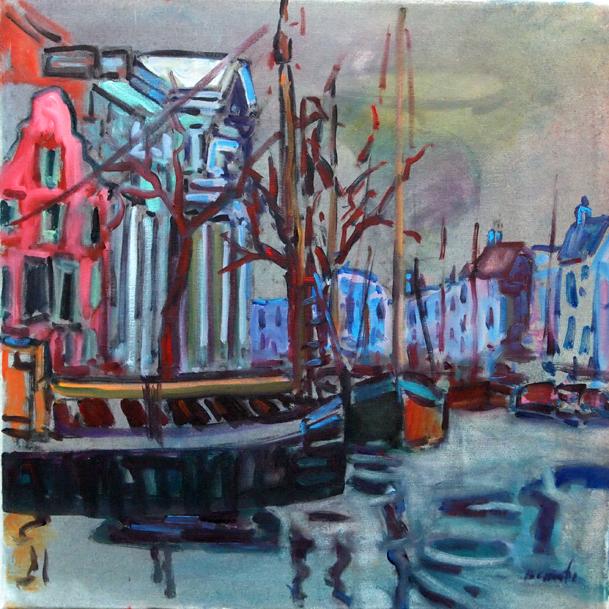 Voorhaven Schiedam