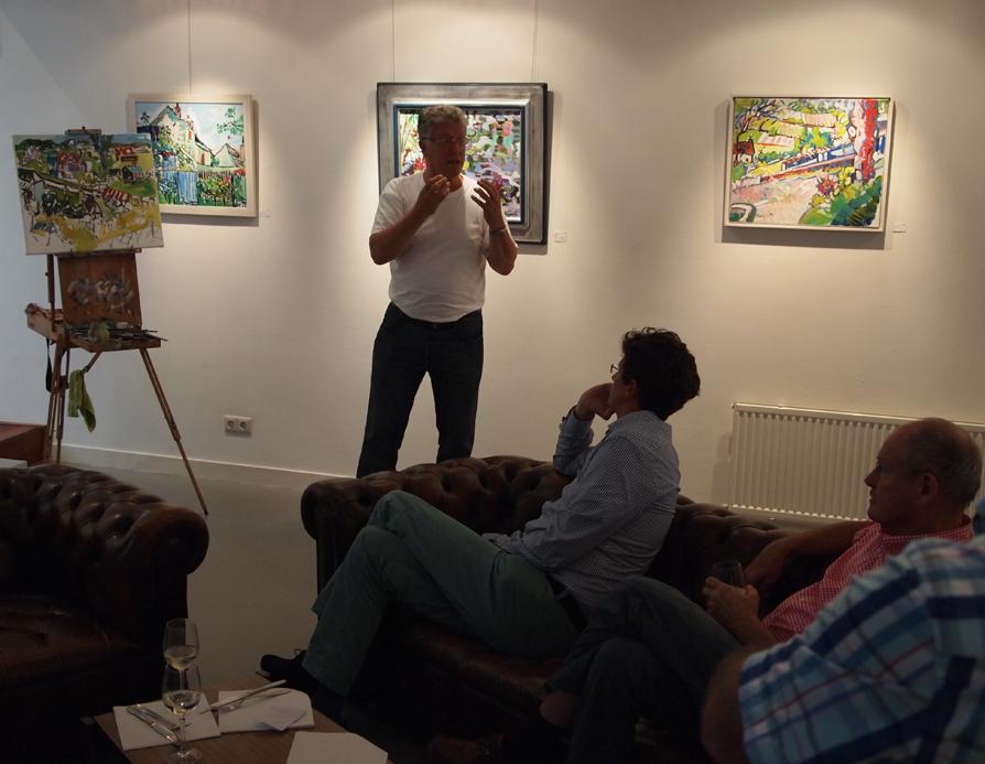 Frans Bianchi vertelt over Fauvisme en expressionisme