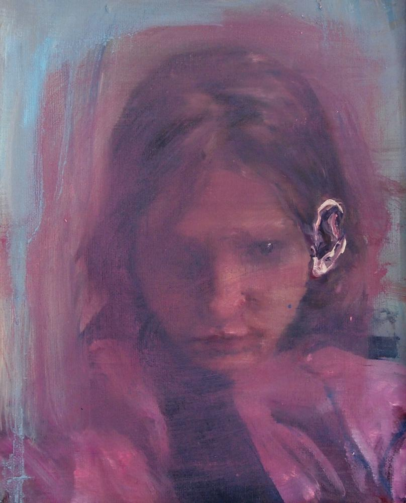 Are you listening - Corinna Weiner - Art work - Oilpaint
