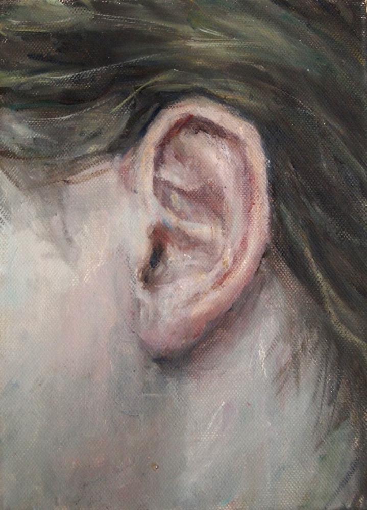 oor fetisj - object - naakt