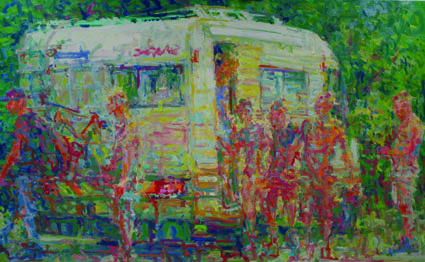 130x210cm_art_modern dutch impresionism