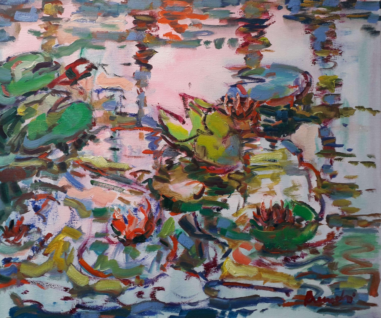 Frans Bianchi Waterlelies2