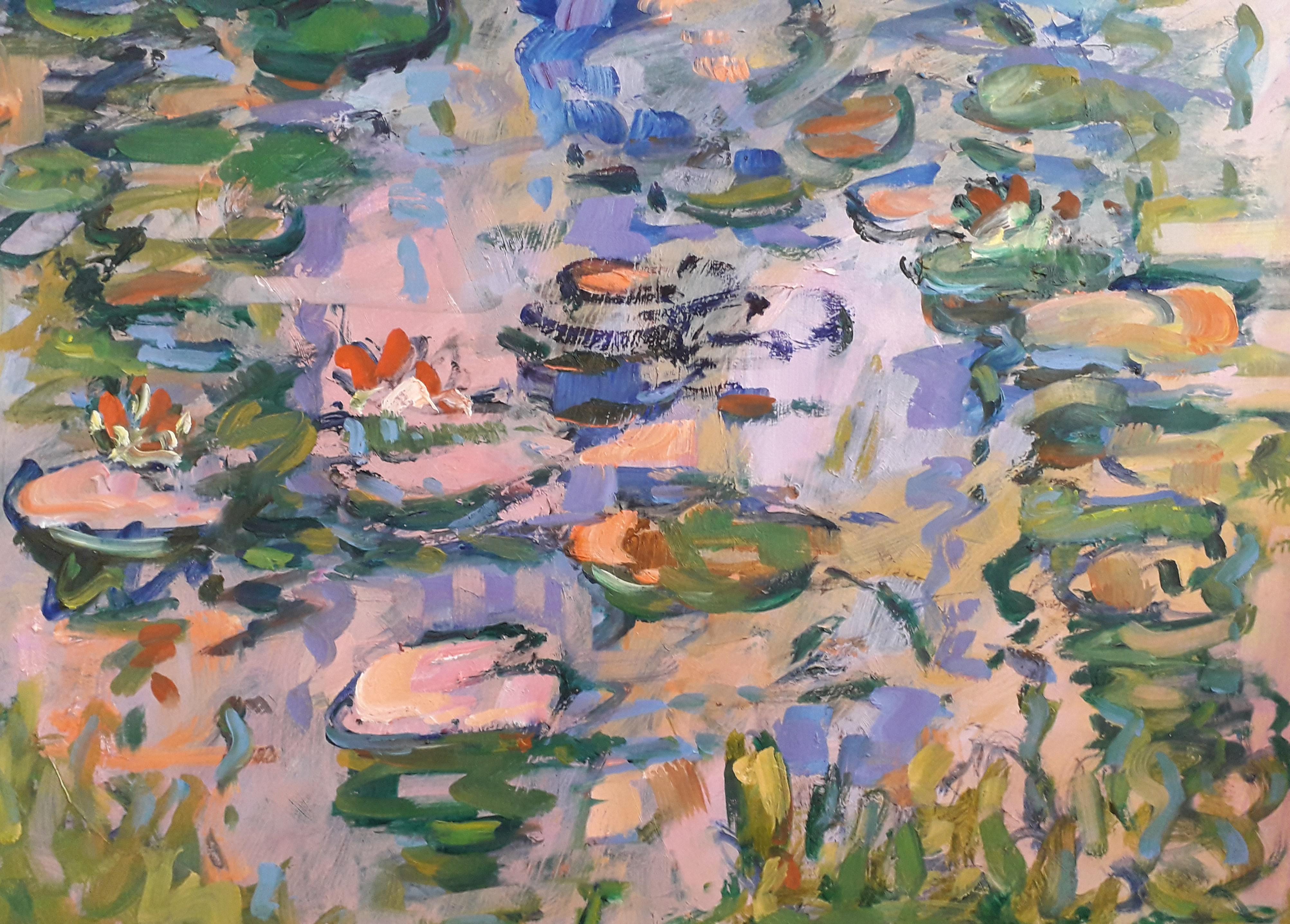 Frans Bianchi Waterlelies4